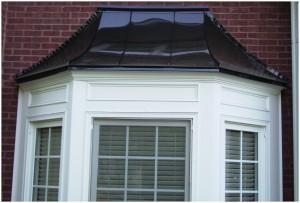 Metal & copper roofing, seamless gutter installation in alpharetta, Sandy Springs Gutters